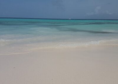 Plajă cu nisip fin