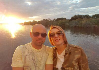 Pe Râul Zambezi