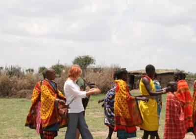 Tribul Maasai